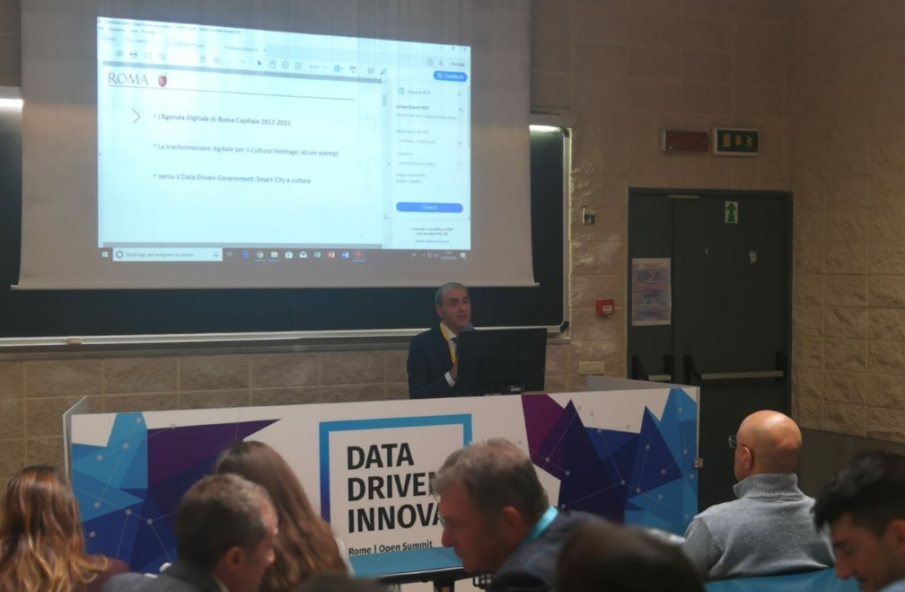 LA STRATEGIA OPEN  DATA E DATA DRIVEN GOVERNMENT DI ROMA CAPITALE A DDI2019